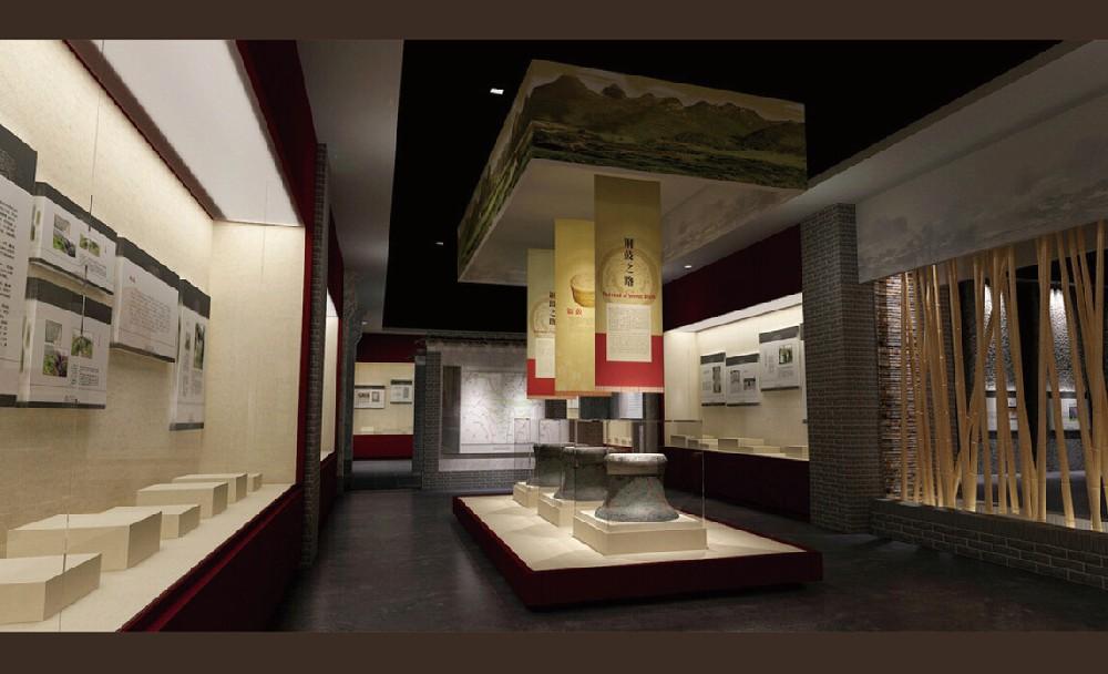 纪念馆展柜案例